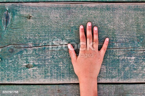istock hand, numbers and wood 520292758