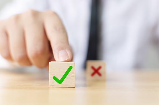 チェックボタンとバツボタン| KEN'S BUSINESS|ケンズビジネス|職場問題の解決サイト