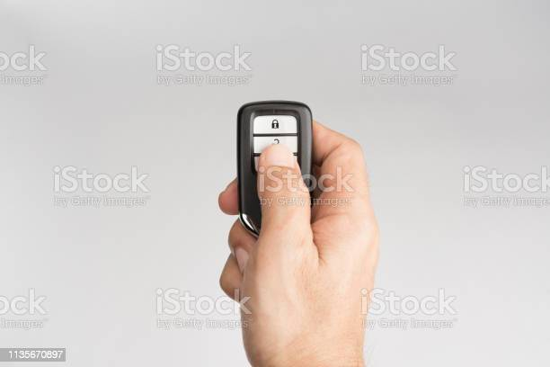 Hand of man holding and push remote control of car to lock unlock or picture id1135670897?b=1&k=6&m=1135670897&s=612x612&h=8ppphpchotomsynmnfnhferkugeez4la3pr9vocjggc=