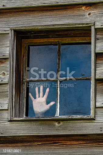 istock Hand of Person Trapped Inside 1215213321