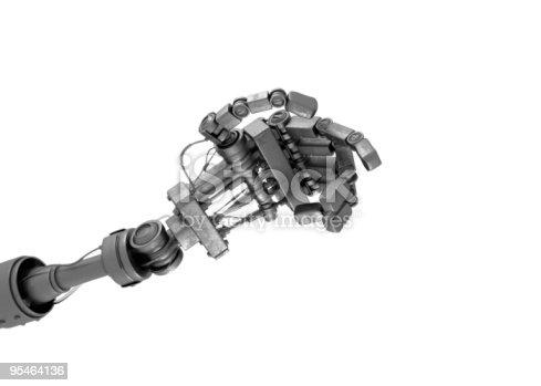 istock Hand of robot 95464136