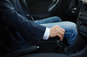 Hand of the driver