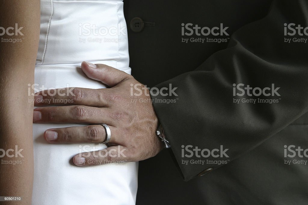 hand on hip royalty-free stock photo