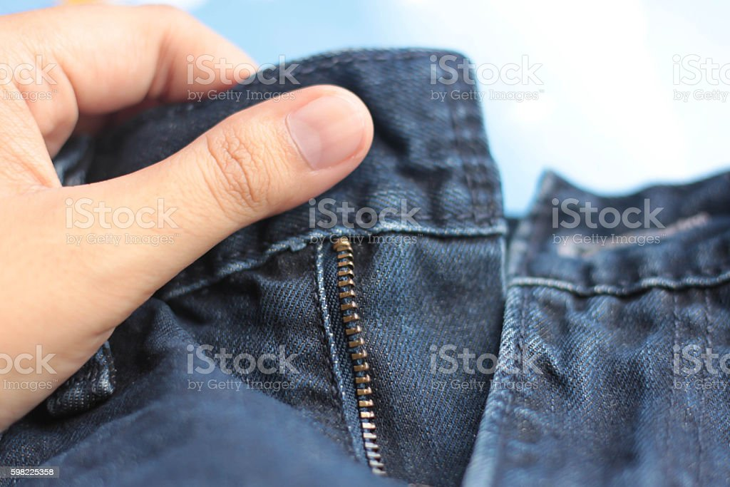hand on Jeans foto royalty-free
