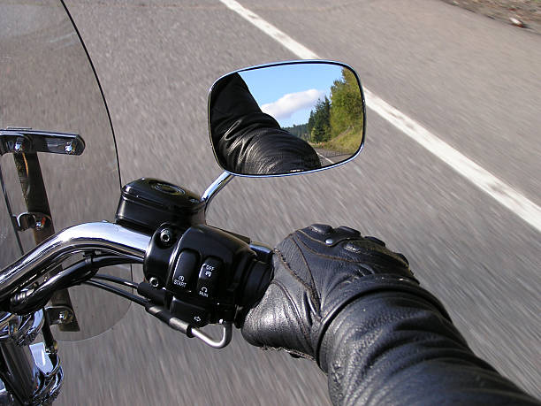 hand on the throttle (1) - sports glove stock photos and pictures
