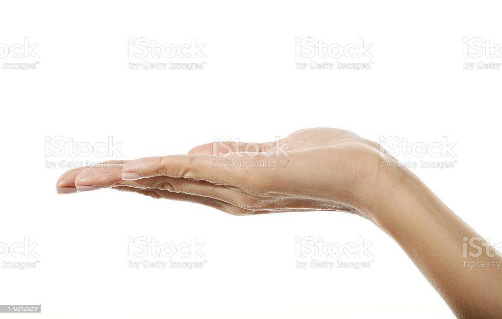 Hand öffnen – Foto