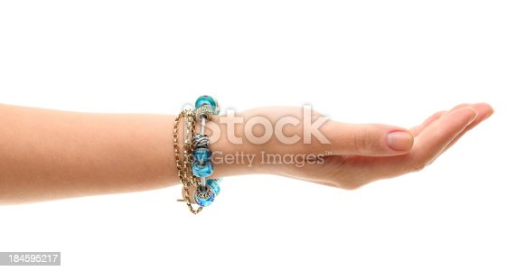 adult woman's hand