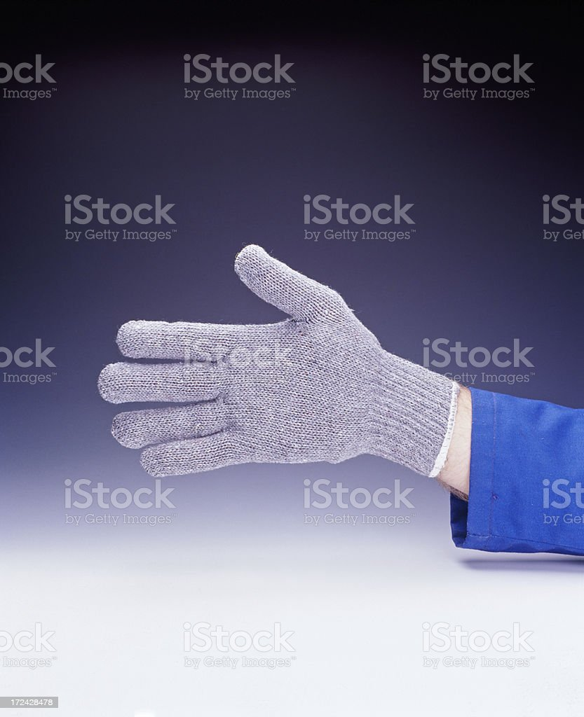 Hand out stock photo