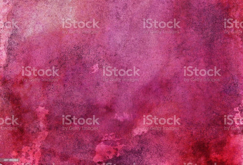 Hand painted abstract background with shades of pink stock photo