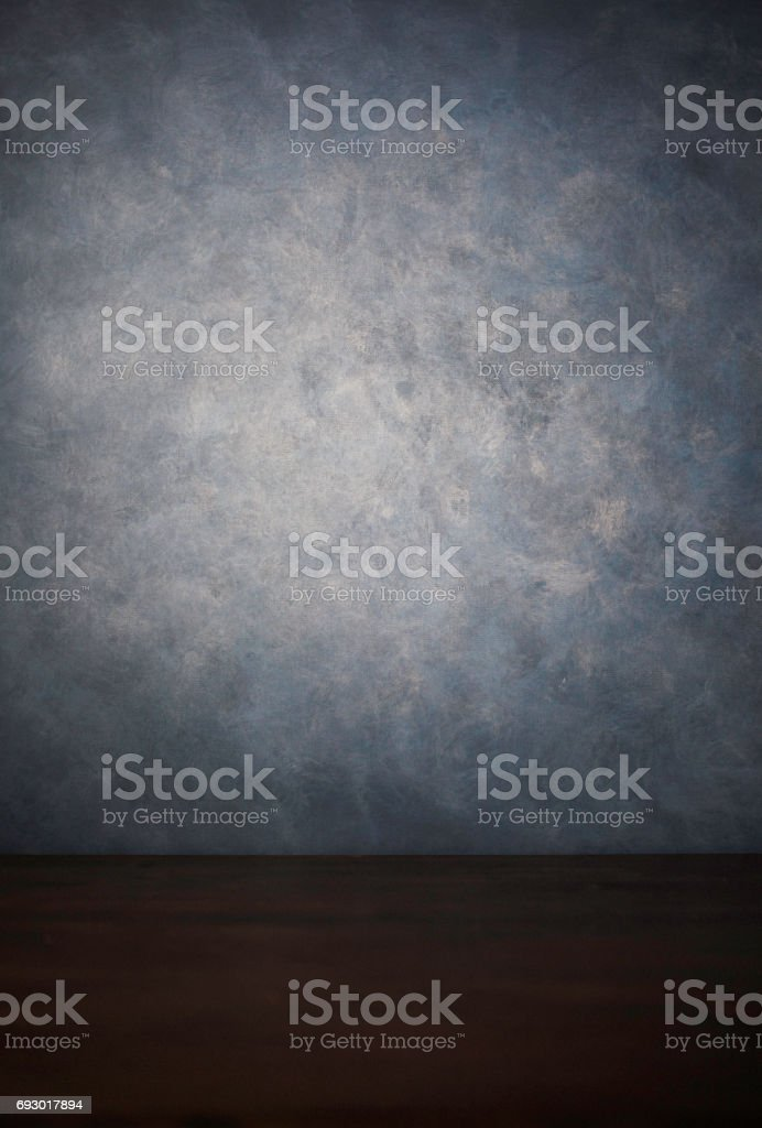 Hand painted backgrounds with wood table top stock photo