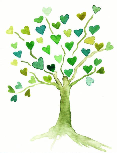 Herz-Baum – Foto