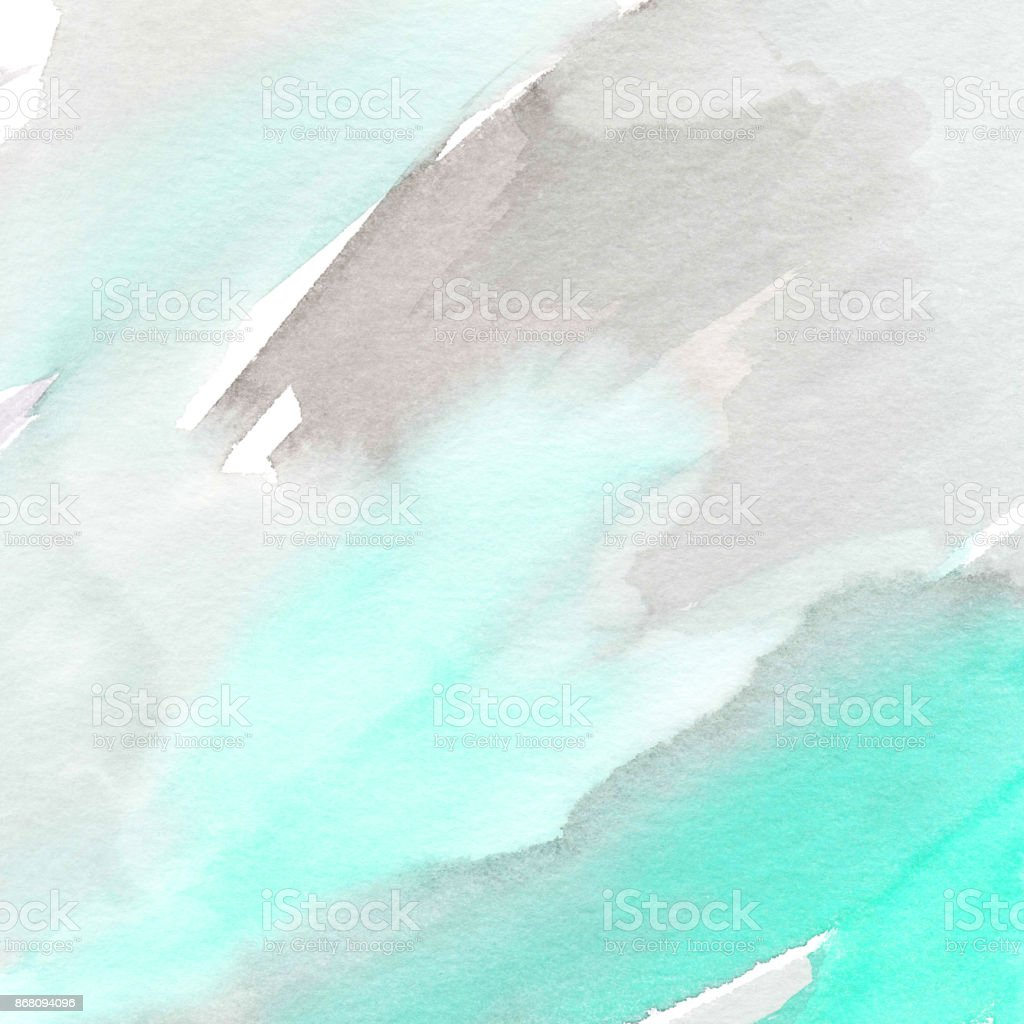 Hand painted watercolor background. stock photo