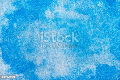 istock Hand painted watercolor background.Colored background. 654925406