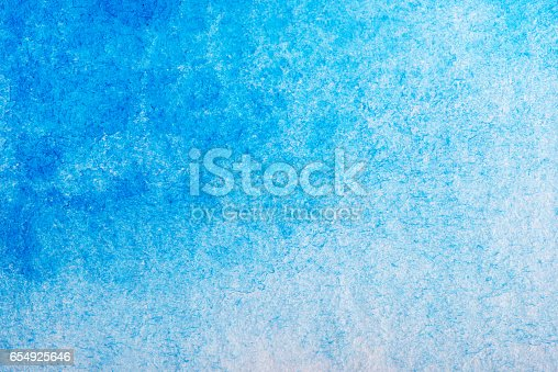 istock Hand painted watercolor background.Colored background. 654925646