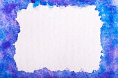 Watercolor background. Blue .Watercolor abstract background. Hand painted watercolor background. Abstract painting.