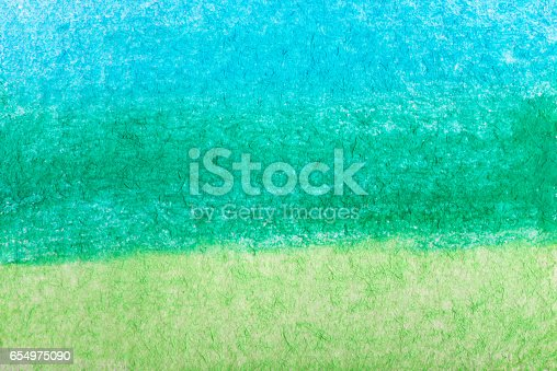 istock Hand painted watercolor background.Colored background. 654975090