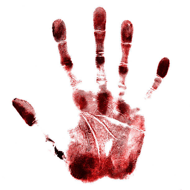 hand - blood stock photos and pictures