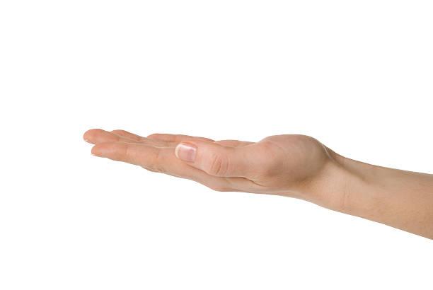 mano (percorso clip inclusa - palmo foto e immagini stock