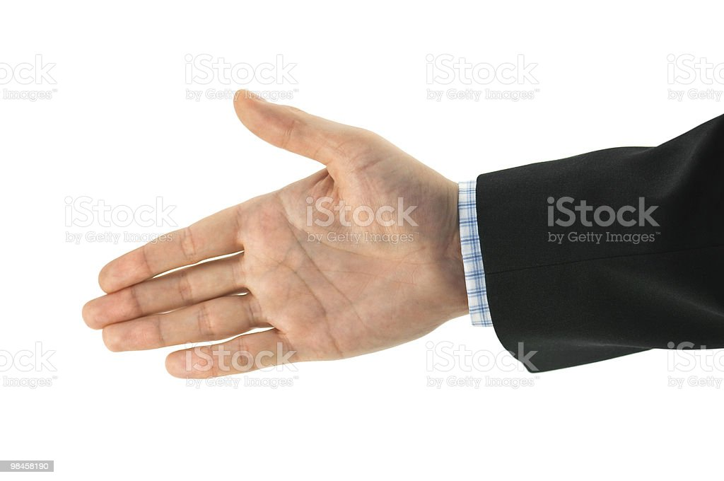hand royalty-free stock photo