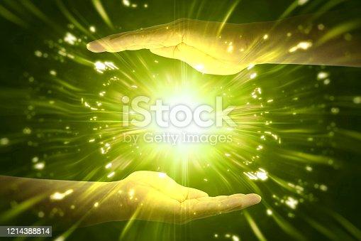 827387052 istock photo Hand power 1214388814