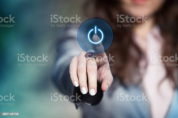 Hand pressing power button on touch screen picture id585149758?b=1&k=6&m=585149758&s=612x612&h=yhfyr8rxzfxczri5h6 y1o9vp6ll wfbsunwrso3zwa=