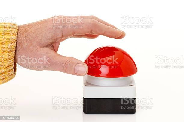 Hand pressing red game show buzzer picture id527636209?b=1&k=6&m=527636209&s=612x612&h=0ueshkoxorazu4nlvzi raxyq3ziuuwz4ygqr05j3uo=