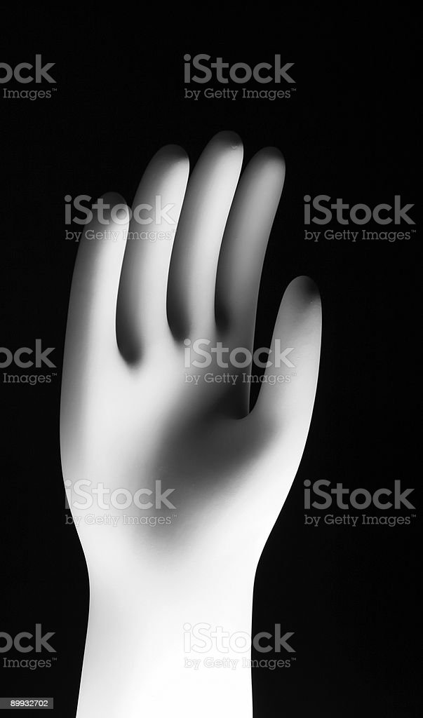 Hand Reaching Up royalty-free stock photo