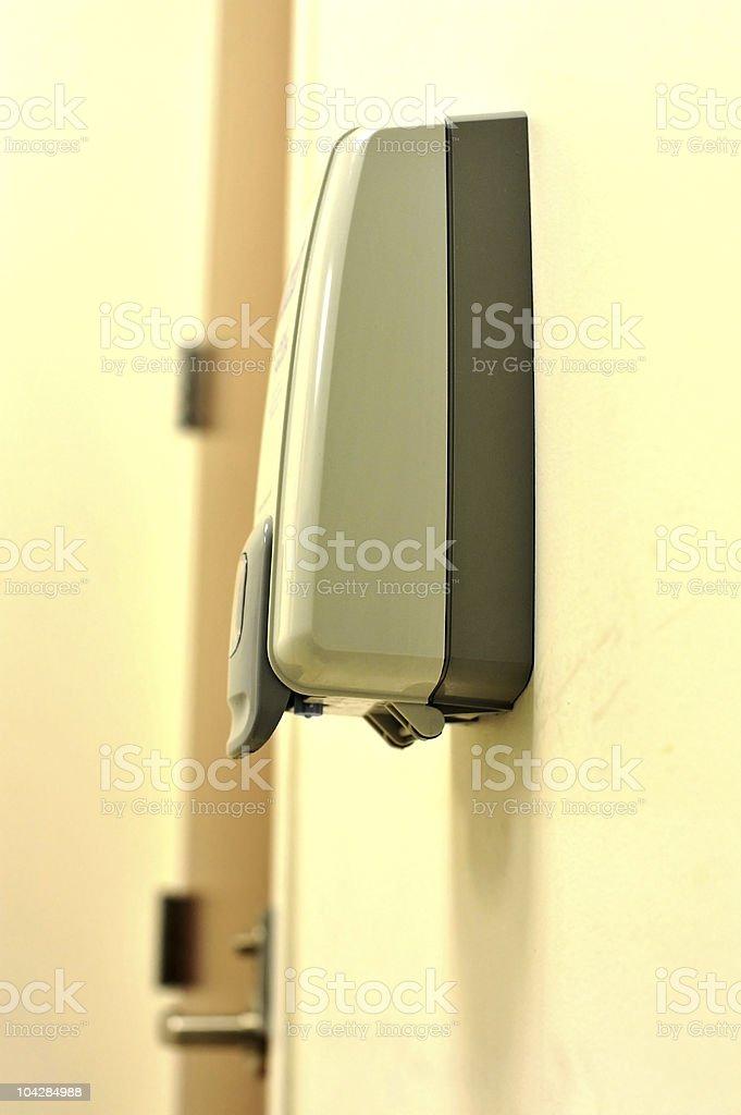 hand sanitizer royalty-free stock photo