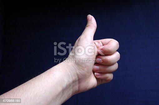 hand doing a