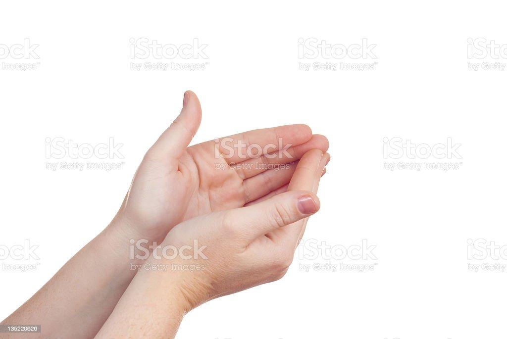 hand sign symbol royalty-free stock photo