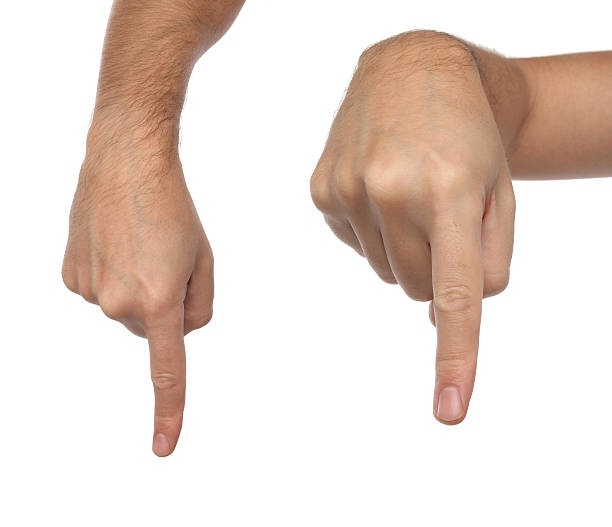 Royalty Free Finger Pointing Down Pictures Images And Stock Photos