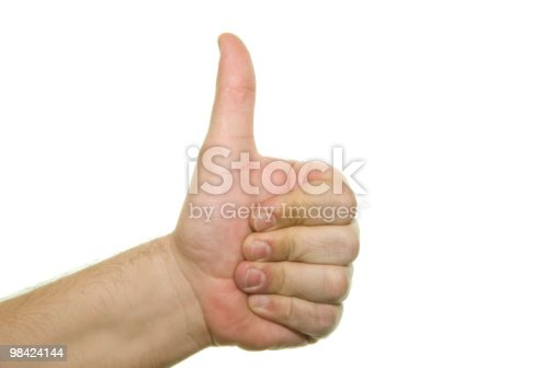 Hand Success Sign Stock Photo & More Pictures of Agreement