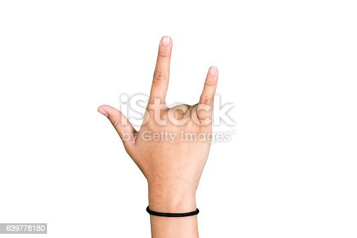 istock hand symbol of love for Valentine Day 639778180