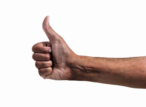 Hand Symbol Stock Photo - Download Image Now