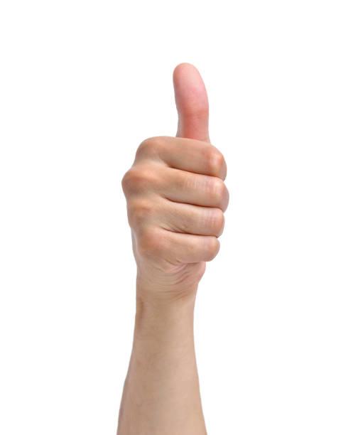 手の記号 - 親指 ストックフォトと画像
