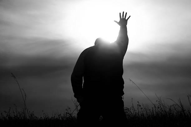 ręce do nieba w religijnego z bóg promieni - bóg zdjęcia i obrazy z banku zdjęć