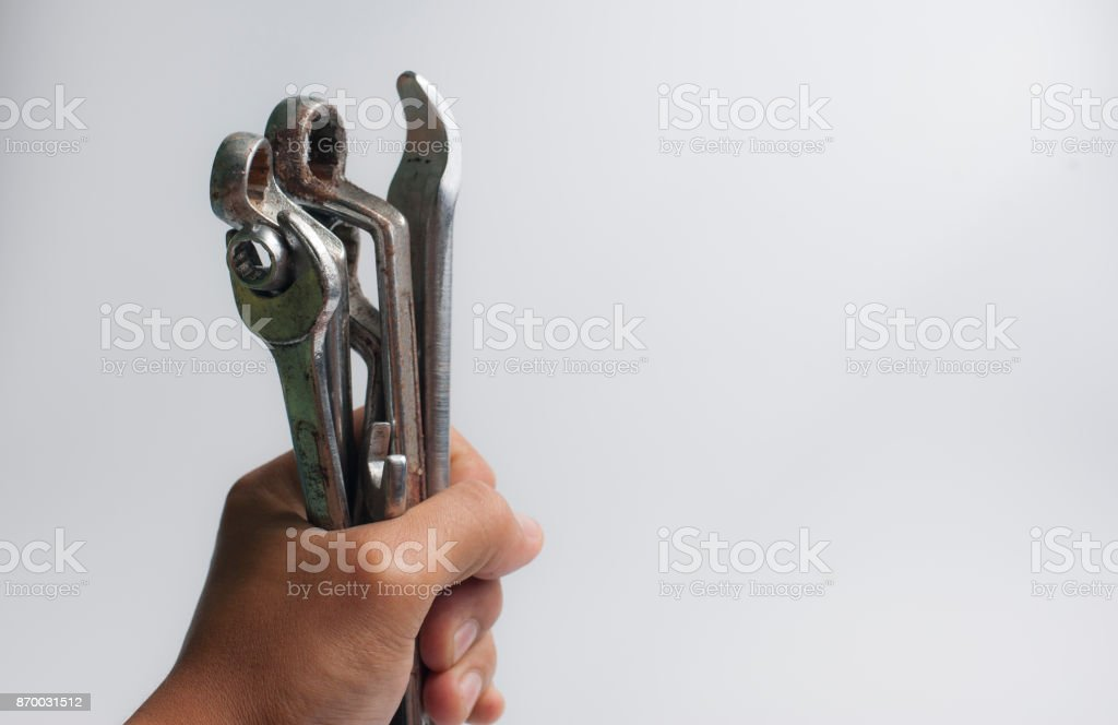 hand tool rust stock photo