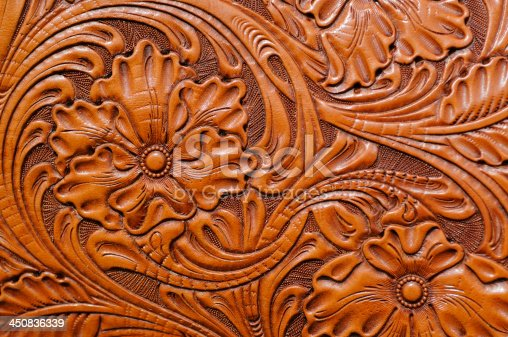 Hand Tooled Leather Stock Photo & More Pictures Of Animal