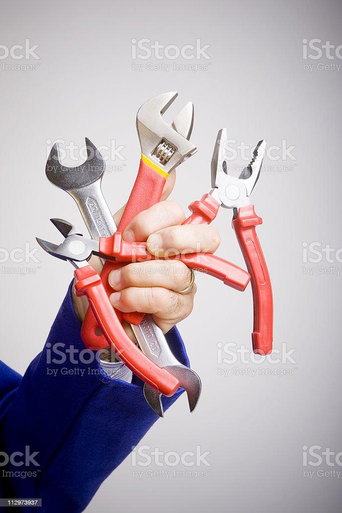 Hand tools royalty-free stock photo