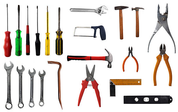 hand tools Kinds of hand tools. socket wrench stock pictures, royalty-free photos & images