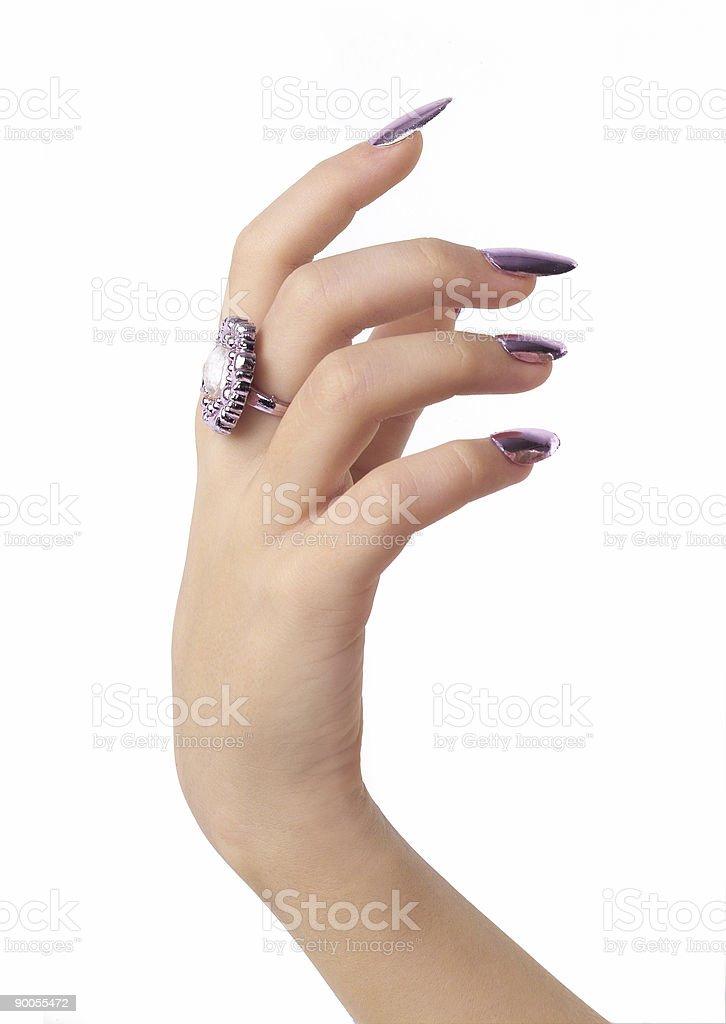 Hand up royalty-free stock photo