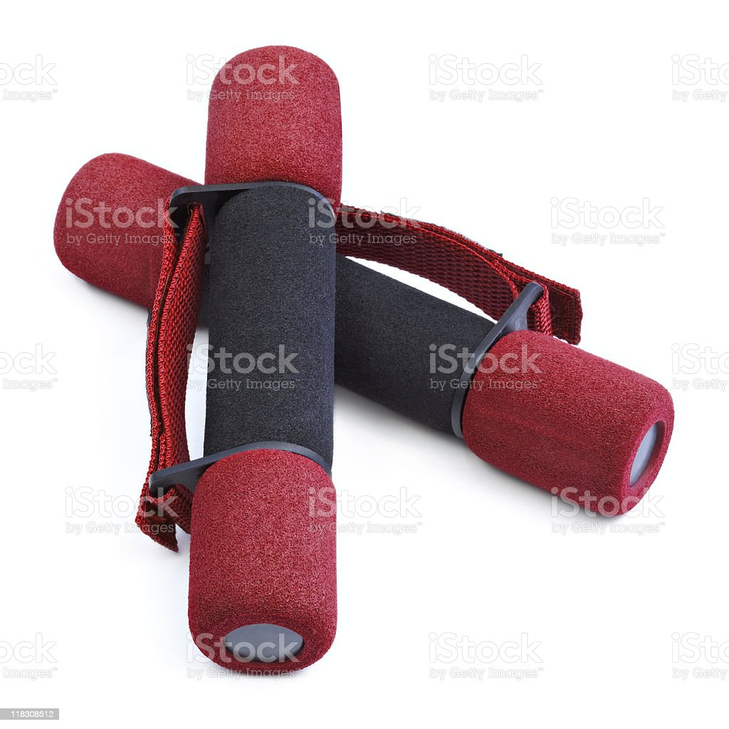 Hand Weights stock photo