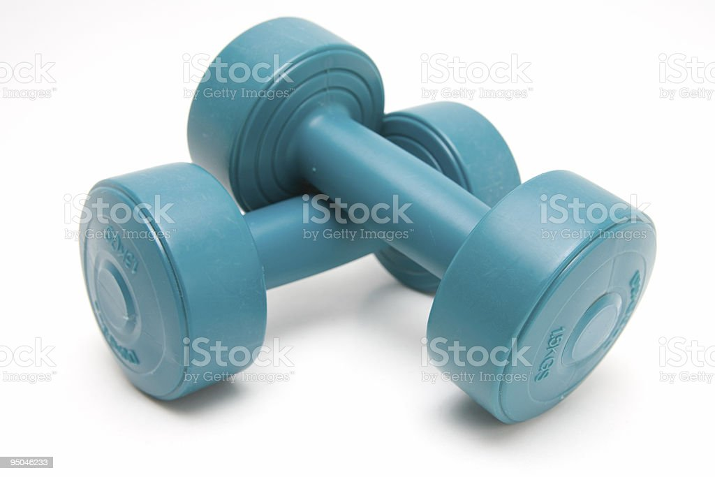 Hand Weights royalty-free stock photo