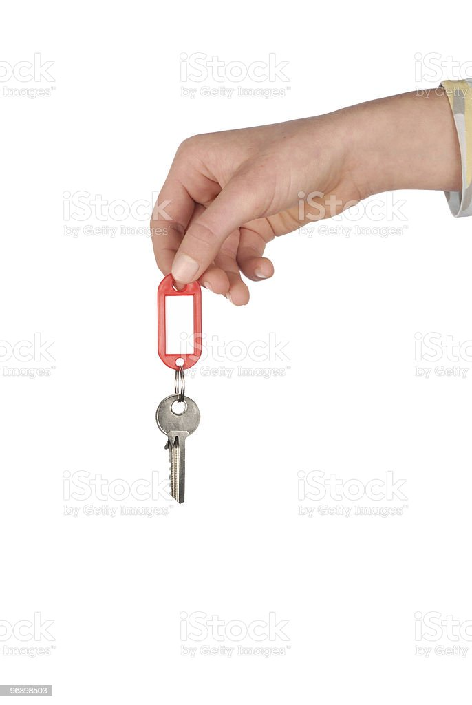 Hand with Key - Royalty-free Accessibility Stock Photo