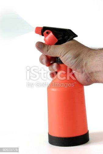 istock hand with sprayer 92623778