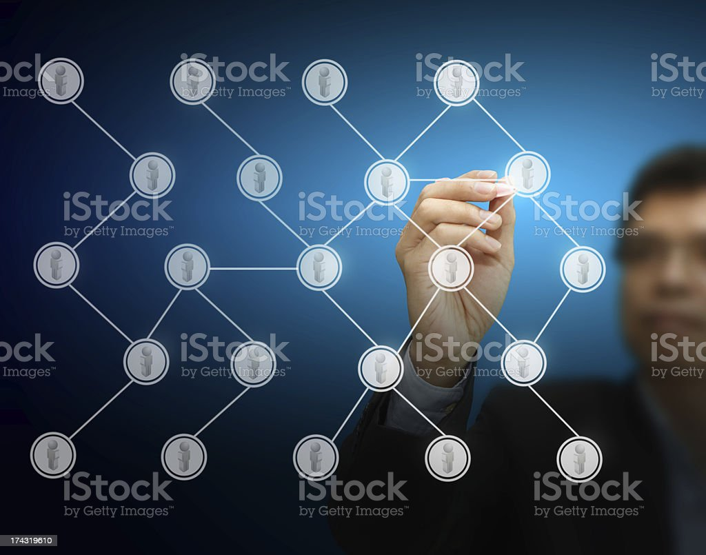 hand working business royalty-free stock photo
