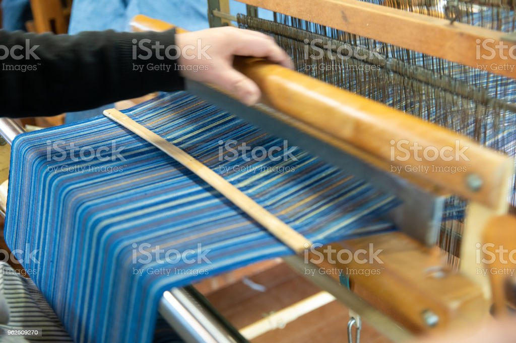 Hand Woven in Kyoto, Japan - Royalty-free Adult Stock Photo