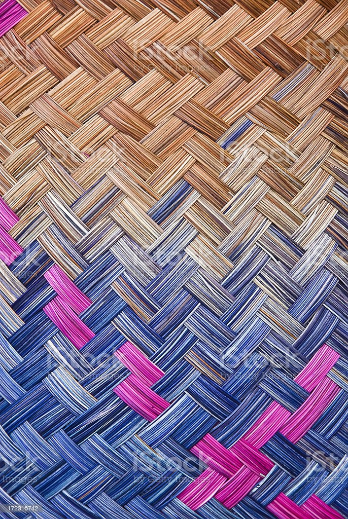 Hand woven product royalty-free stock photo