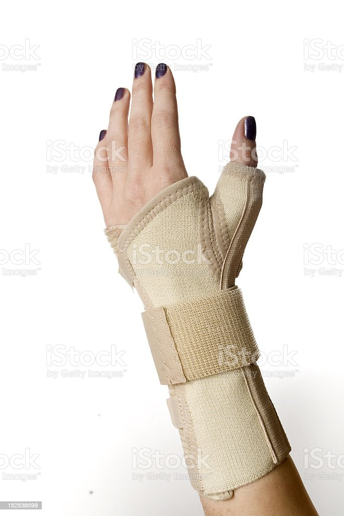 Hand Wrist Support stock photo