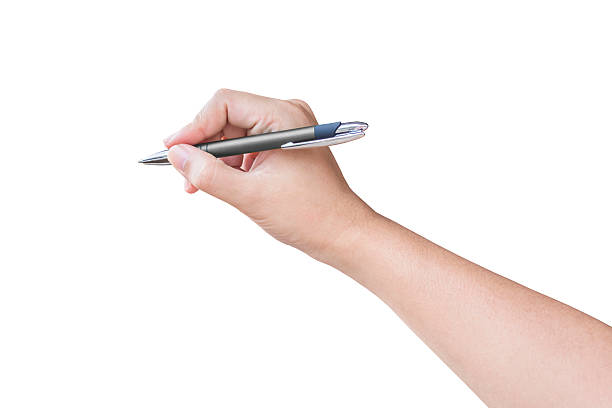 hand writing - pen stock photos and pictures